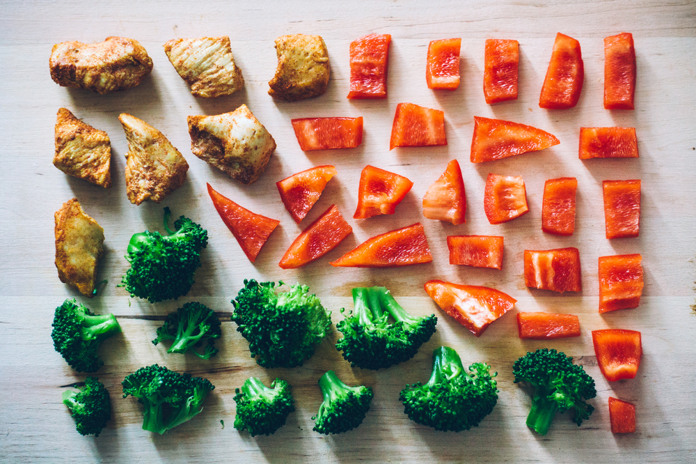 Low Carb Veggies and Chicken